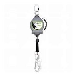 ENROULEUR  FALCON ANTICHUTE  AUTO CABLE ACIER 10 M  FA2040010 KRATOS